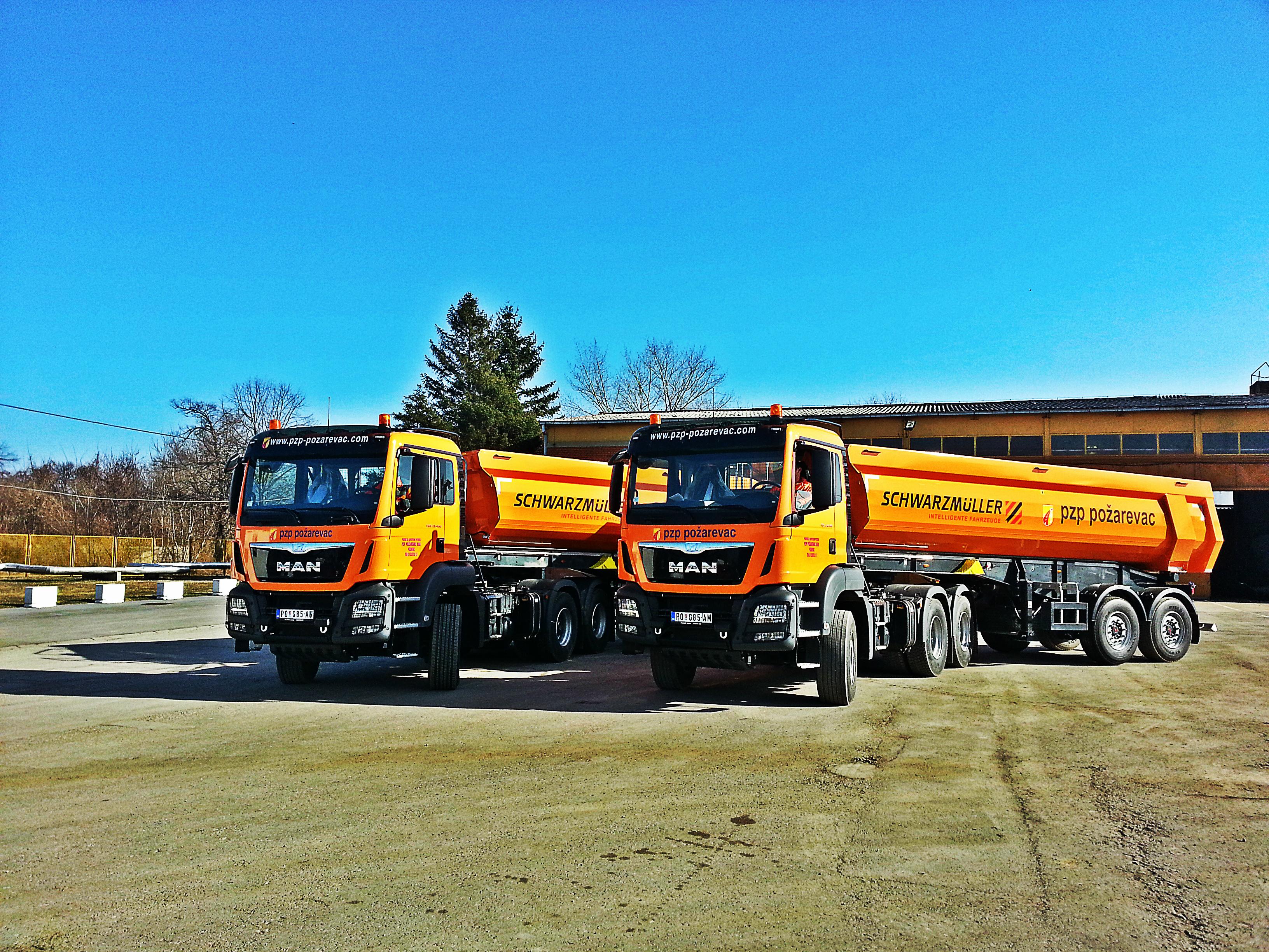 Novi kamioni i prikolice